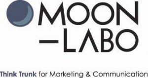 ロゴ〈MOON-LABO Think Trunk for Marketing & Communication〉