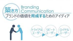ブランドの価値を育成するためのアイディア